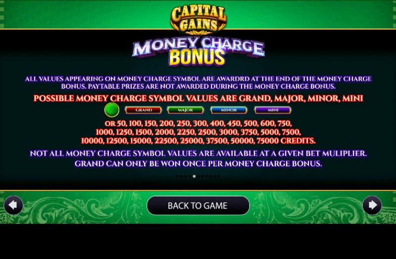 Capital Gains :: Jackpot Rules