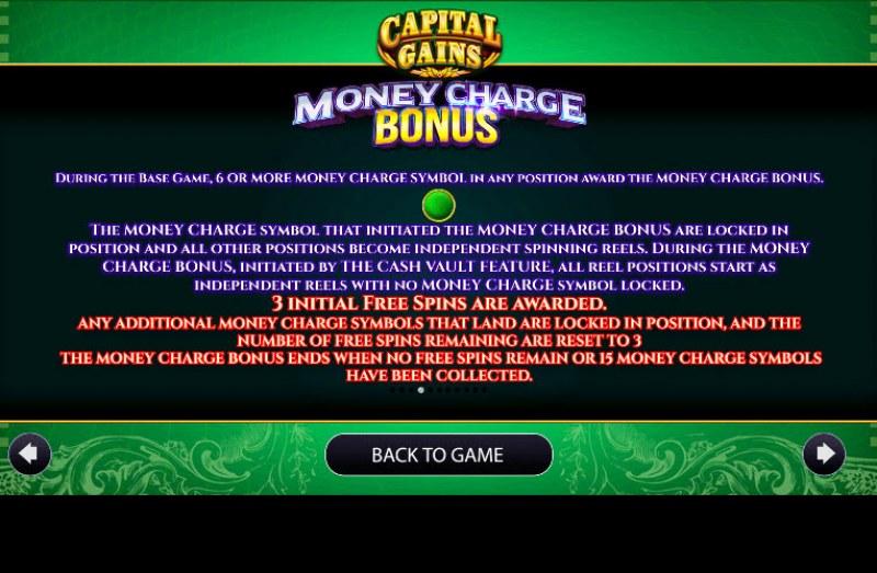 Capital Gains :: Bonus Game Rules