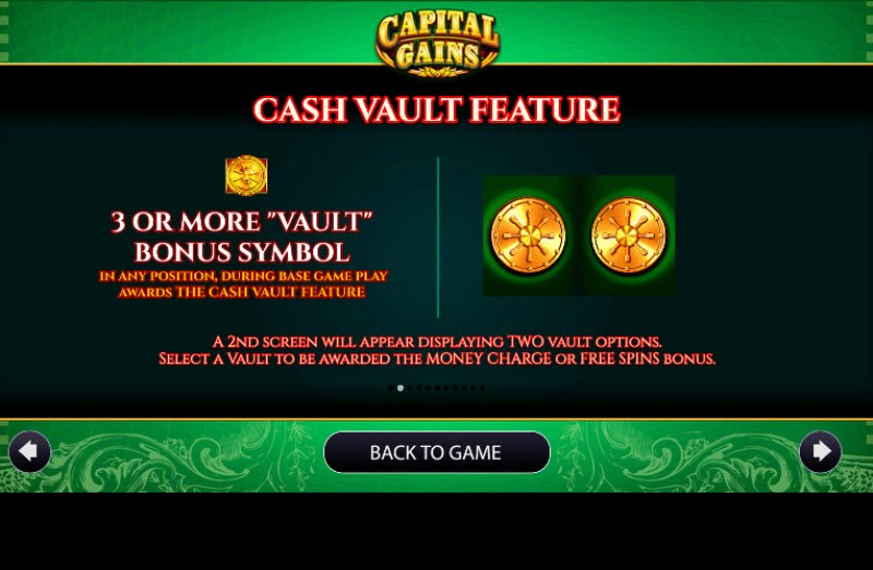 Capital Gains :: Feature Rules