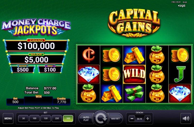 Capital Gains :: Main Game Board