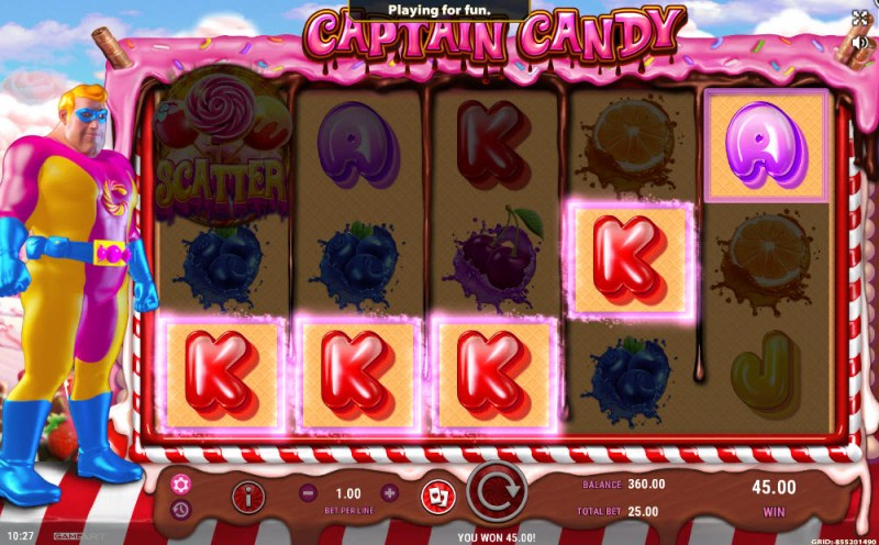 Captain Candy :: Four of a kind