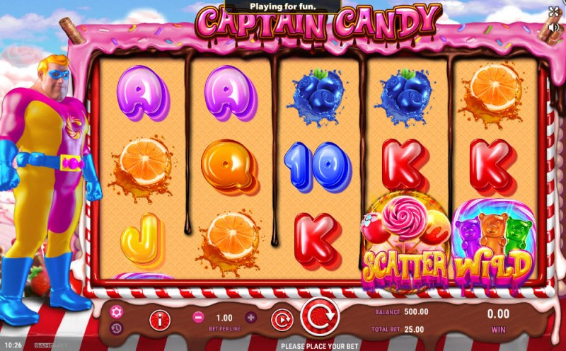 Captain Candy :: Main Game Board