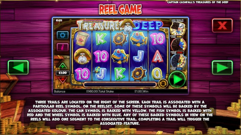 Captain Cashfall's Treasures of the Deep :: Feature Rules