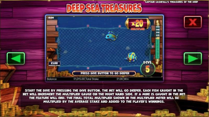 Captain Cashfall's Treasures of the Deep :: Deep Sea Treasures