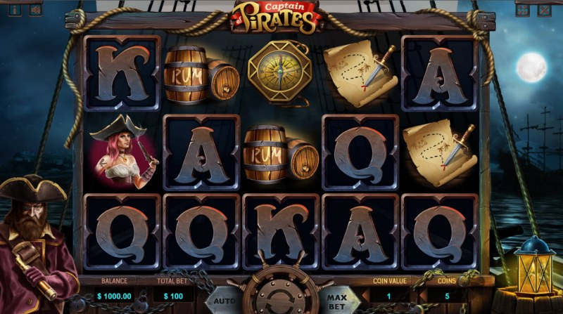 Captain of Pirates :: Base Game Screen
