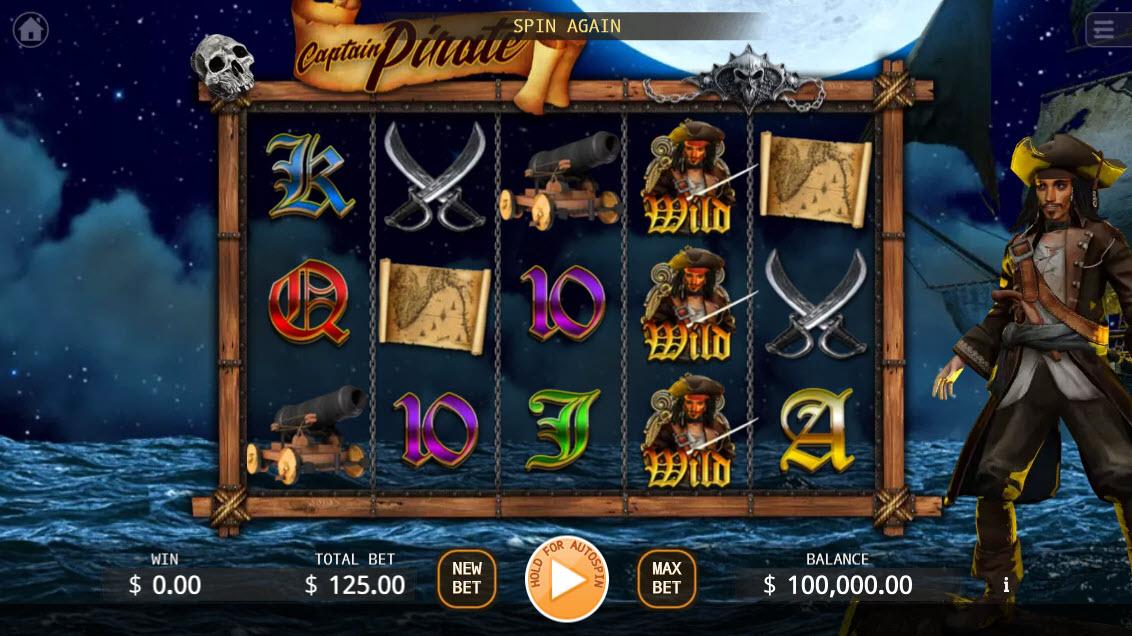 Captain Pirate :: Main Game Board