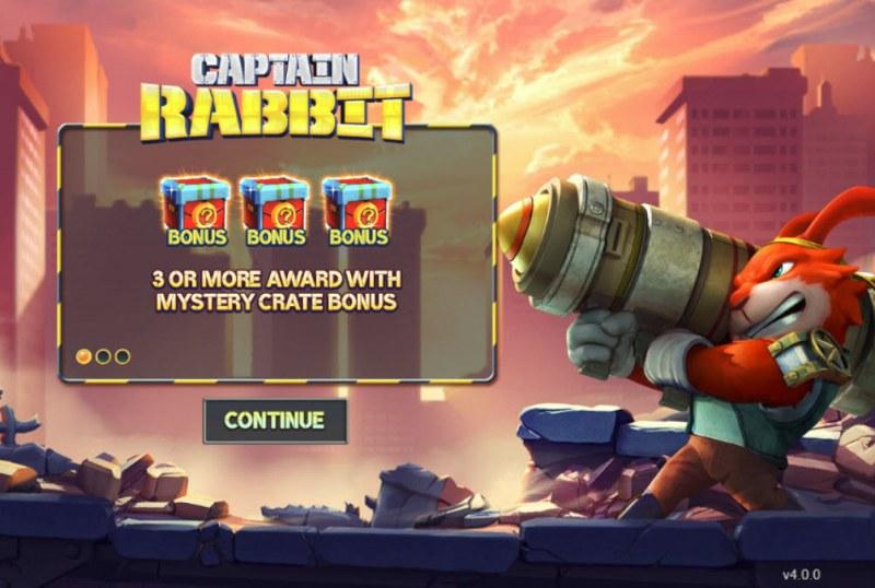 Captain Rabbit :: Introduction