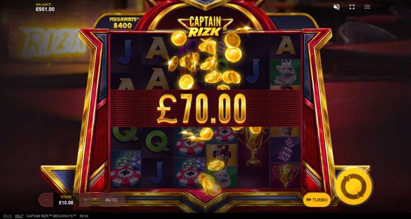 Captain Rizk Megaways :: Big Win