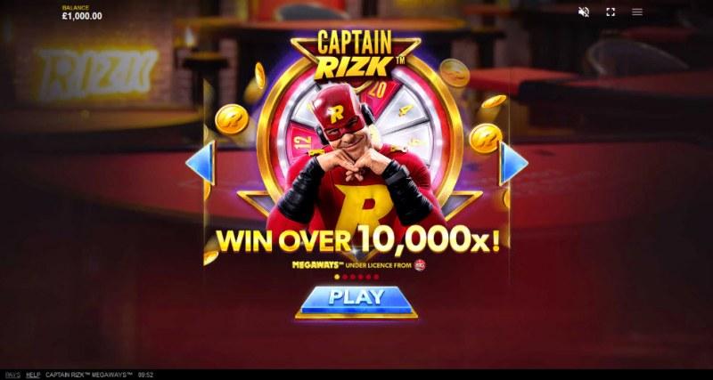 Captain Rizk Megaways :: Win Over 10,000x