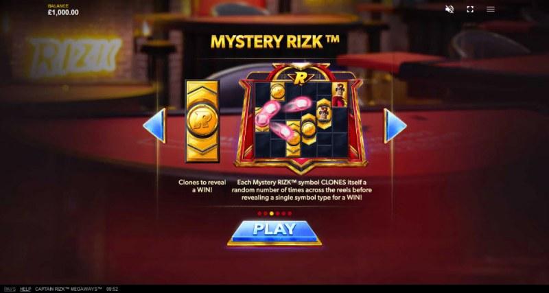 Captain Rizk Megaways :: Mystery Rizk