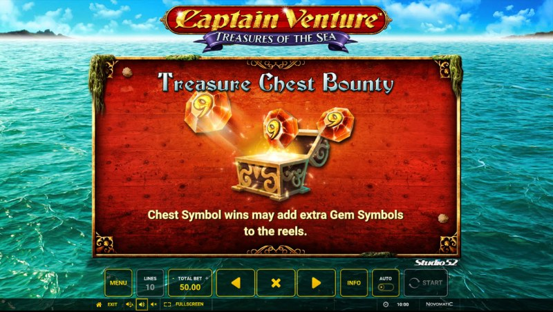 Captain Venture Treasures of the Sea :: Treasure Chest Bounty