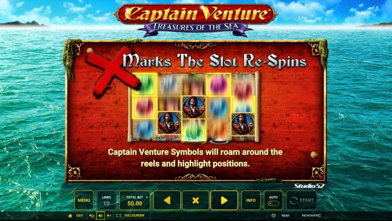 Captain Venture Treasures of the Sea :: Feature Rules