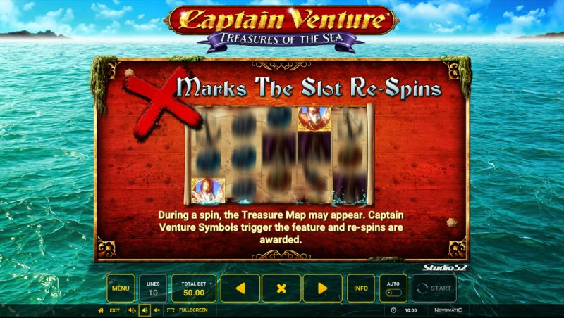 Captain Venture Treasures of the Sea :: X Marks The Spot Re-Spins