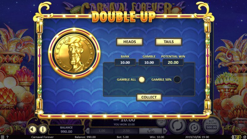 Carnival Forever :: Double Up Game