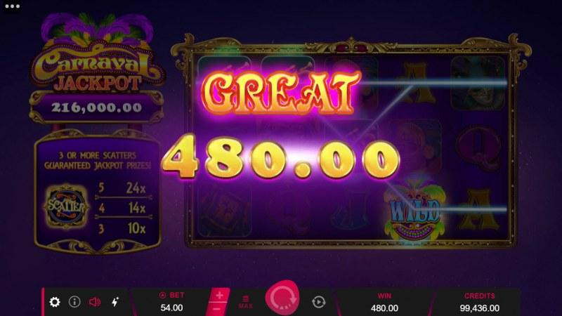 Carnival Jackpot :: Big Win