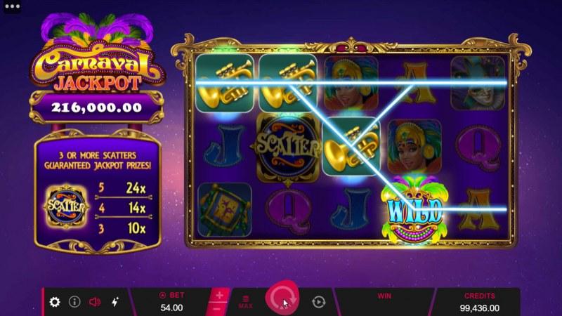 Carnival Jackpot :: Multiple winning paylines