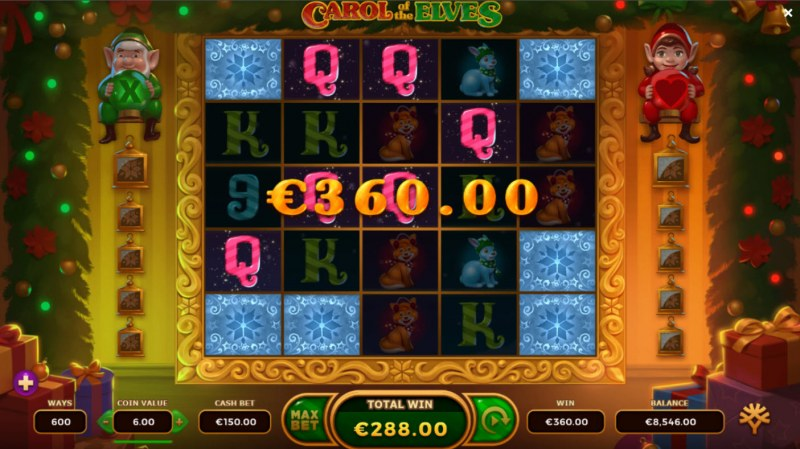 Carol of the Elves :: Multiple winning combinations