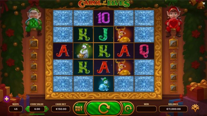 Carol of the Elves :: Main Game Board