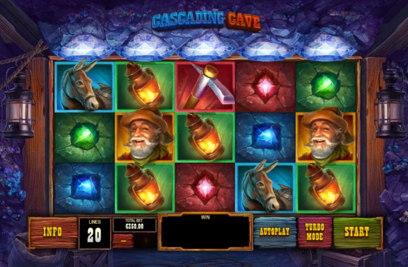Cascading Cave :: Main Game Board