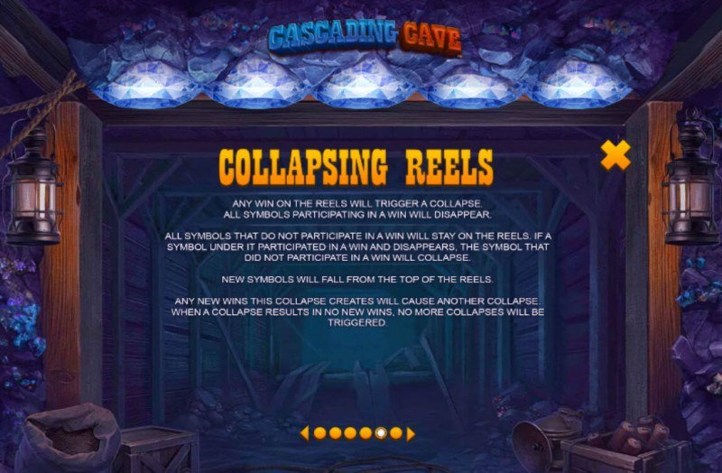 Cascading Cave :: Collapsing Reels