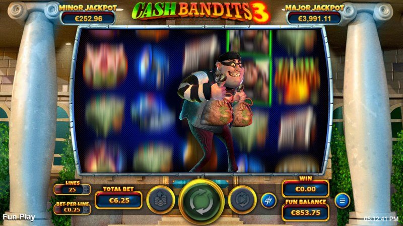 Cash Bandits 3 :: Feature Triggered