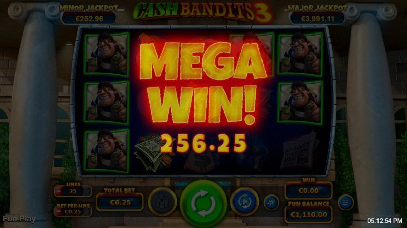 Cash Bandits 3 :: Mega Win
