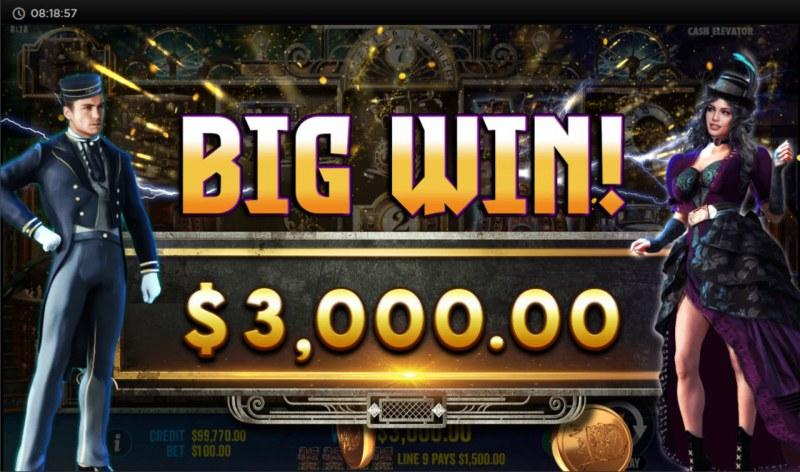 Cash Elevator :: Big Win