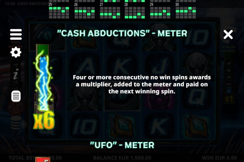 Cash Encounters :: Feature Rules