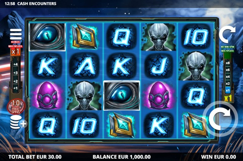 Cash Encounters :: Main Game Board