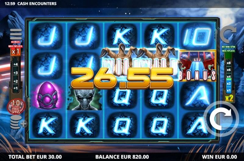 Cash Encounters :: Multiple winning paylines