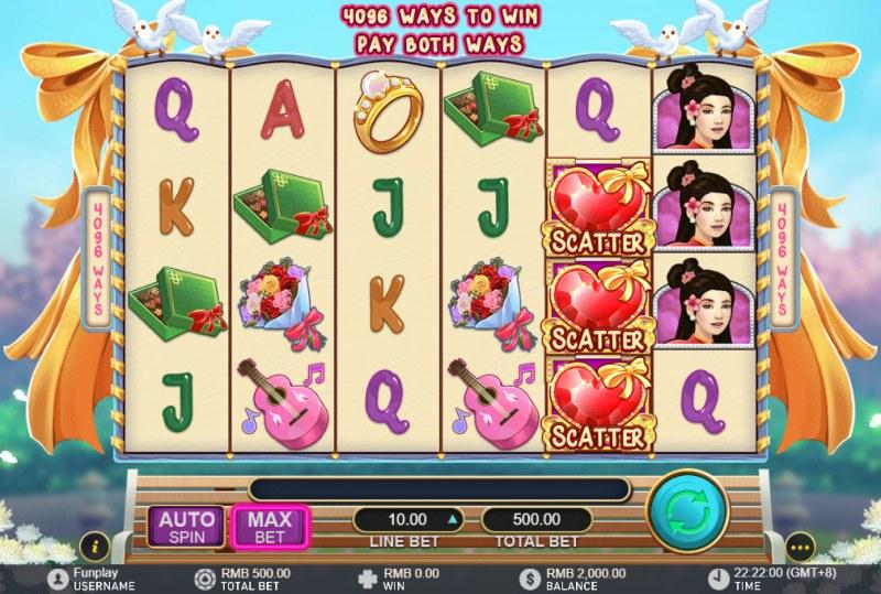 Cash & Kisses :: Main Game Board