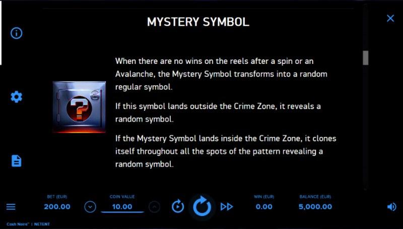 Cash Noire :: Mystery Symbol