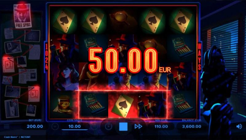 Cash Noire :: A five of a kind win