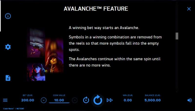 Cash Noire :: Avalanche Feature