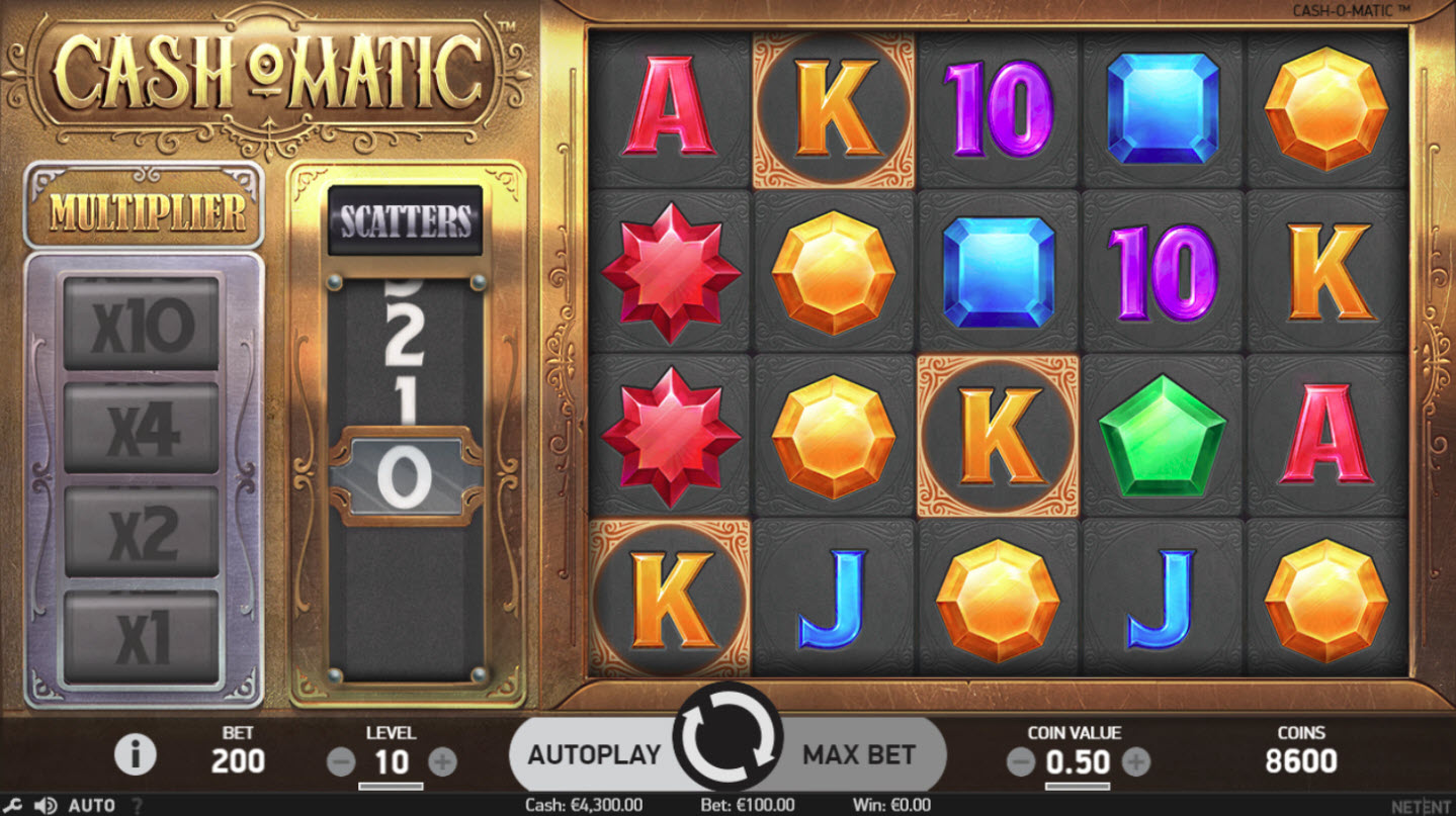 Play slots at Powerspins: Powerspins featuring the Video Slots Cash-O-Matic with a maximum payout of $500,000