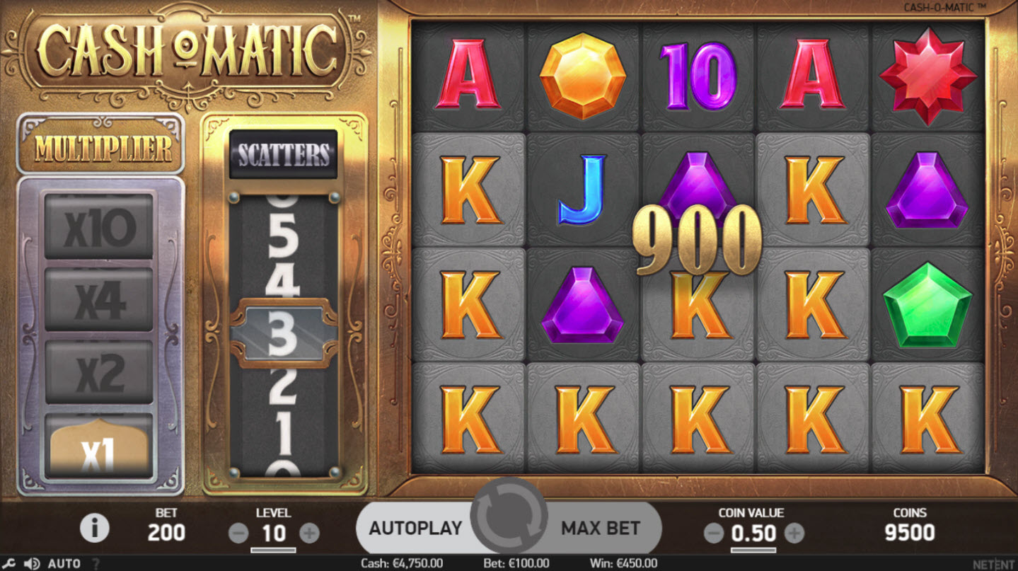 Play slots at Casino Cruise: Casino Cruise featuring the Video Slots Cash-O-Matic with a maximum payout of $500,000