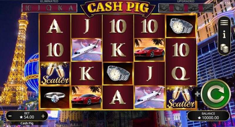 Cash Pig :: Main Game Board
