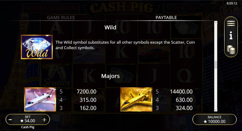 Cash Pig :: Wild Symbol Rules
