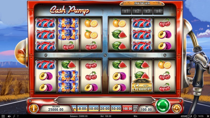 Cash Pump :: Main Game Board