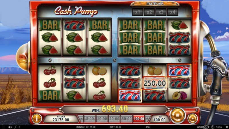 Cash Pump :: Multiple winning paylines