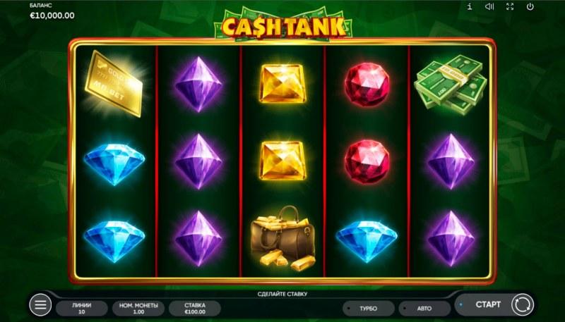 Cash Tank :: Base Game Screen