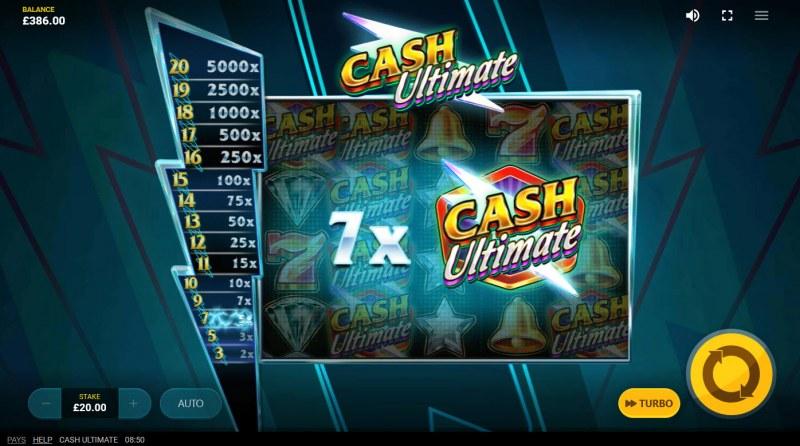 Cash Ultimate :: 7x Win Multiplier