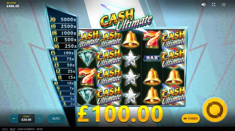 Cash Ultimate :: Total Feature Payout