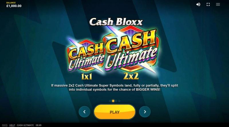 Cash Ultimate :: Cash Blox