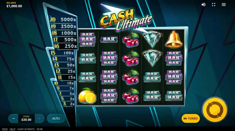 Cash Ultimate :: Main Game Board