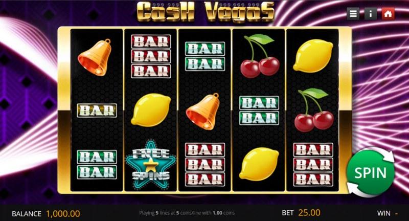 Cash Vegas :: Main Game Board