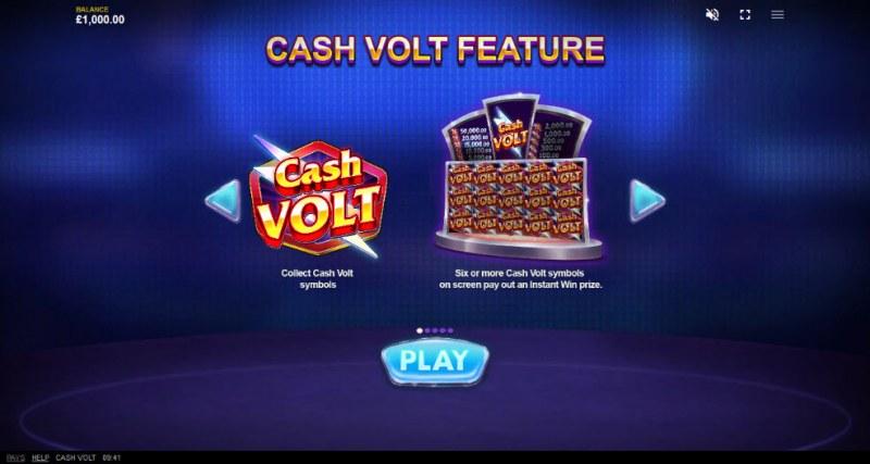 Cash Volt :: Feature Rules