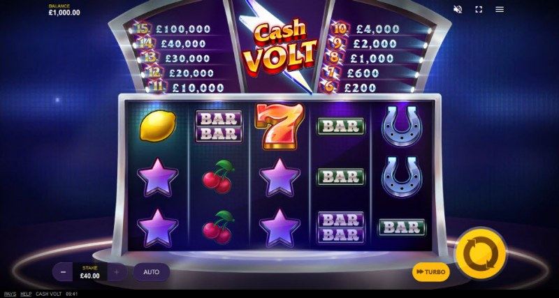 Cash Volt :: Main Game Board