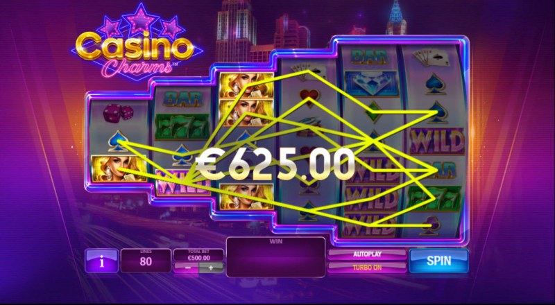 Casino Charms :: Multiple winning paylines