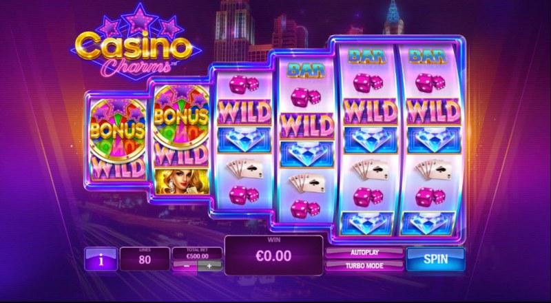 Casino Charms :: Main Game Board
